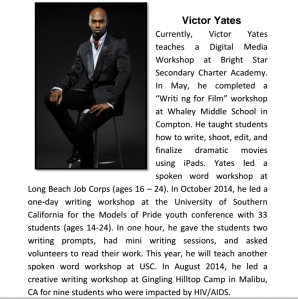 Victor Yates A Love Like Blood writer